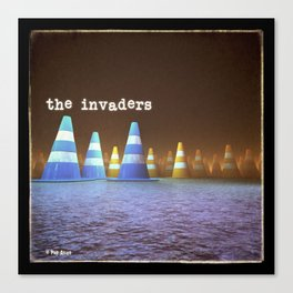 Gang of Cones  - The Invaders Canvas Print