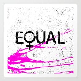 Women's Rights Art Print