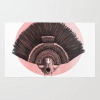 headdress Area & Throw Rugs featuring ::headdress:: by eve orea