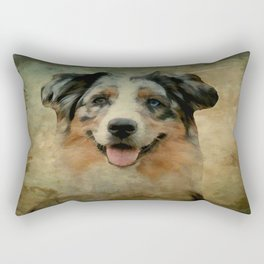 Australian Shepard - Aussie Rectangular Pillow