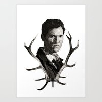 true detective Art Prints featuring True Detective by ConnorEden