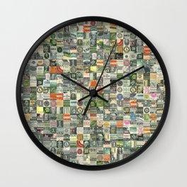 Money Montage Wall Clock