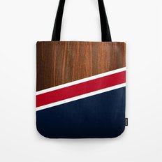 Wooden New England Tote Bag