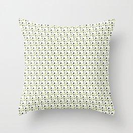 Green Heart Pattern Throw Pillow