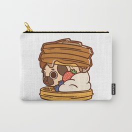 Puglie Waffles Carry-All Pouch