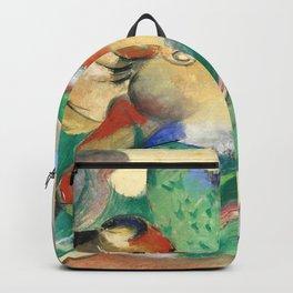 """Franz Marc """"Jumping Horse (Springendes Pferd)"""" (I) Backpack"""