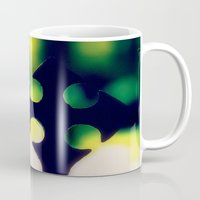 cross Mugs featuring Cross by Leffan
