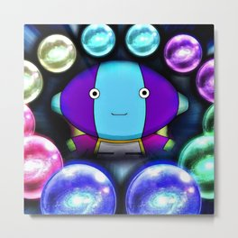 The strongest god Metal Print