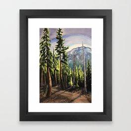 Before the Light Falls Framed Art Print