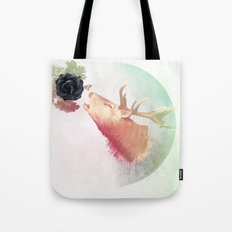 Deer Howling for NATURE!  Tote Bag