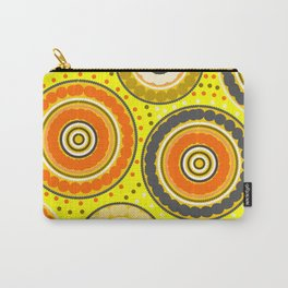 Beads and circles- aboriginal pattern Carry-All Pouch