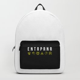 ENTRPRNR - Entrepreneur with Icons Backpack