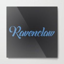 Ravenclaw Graffiti Metal Print