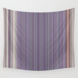 Purple Pantone Modern Stripes Wall Tapestry