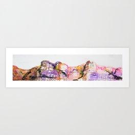 Mountains III Art Print