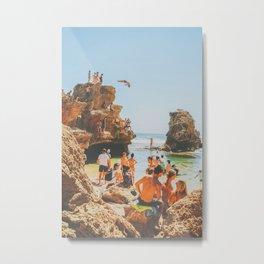 Summer in Victoria Metal Print