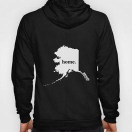 Alaska. Home. Love Unisex Hoody