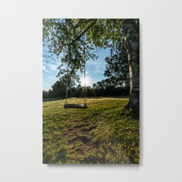 Country Comfort / Tree Swing Metal Print