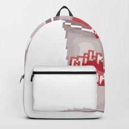 Milkshake Milchshake Becher Retro Pixel Backpack