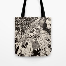 Entanglement (Untitled Face II) Tote Bag