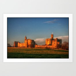 Walkworth Castle Art Print