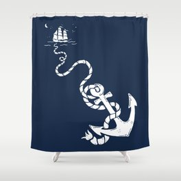 Our Anchor We Will Weigh Shower Curtain