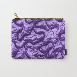 Funky Alien Brain 2D Carry-All Pouch
