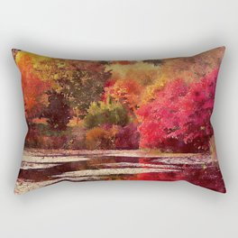 A Feeling of Warmth Rectangular Pillow