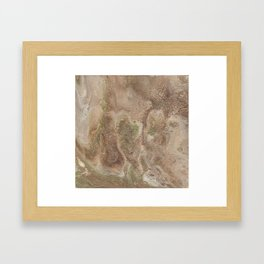 Acrylic Flow #0303 - Cafe Condescension Framed Art Print