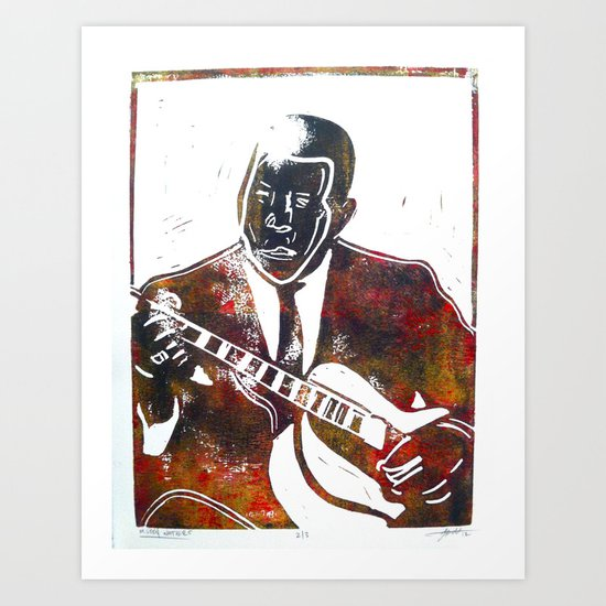 Muddy Waters 2/3 Art Print