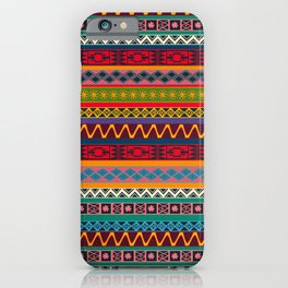 African pattern No4 iPhone Case