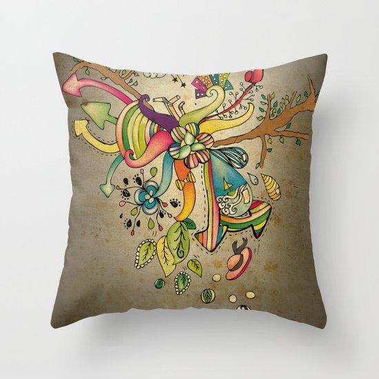 Another Strange World Throw Pillow