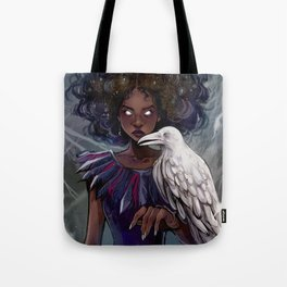 The Crow Witch Tote Bag