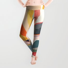 Colorful Branching Out 05 Leggings