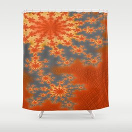Heat Wave Shower Curtain