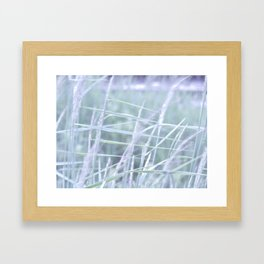 Wind Through the Grass Framed Art Print