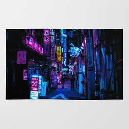 Tokyo's Blade Runner Vibes Rug