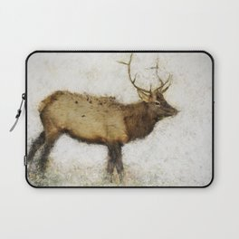 Grand Canyon Elk No. 1 Wintered Laptop Sleeve