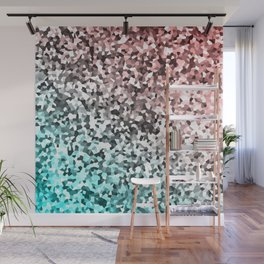 Seamless Flow of Shapes Wall Mural