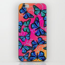 Cool Monarchs at Sunset iPhone Skin