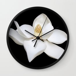 """Wake Up and Smell The Lilies"" Minimalisticly Limitless HOME DECOR from Good Flow Design Wall Clock"