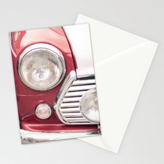 Red Mini Cooper Stationery Cards