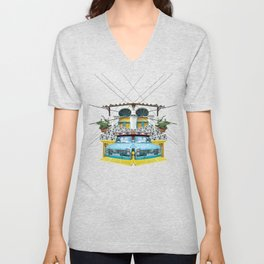 Fruit Car - Beirut Unisex V-Neck
