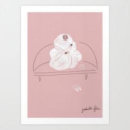 Emmitouflée Art Print