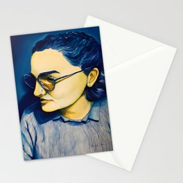 Protanopia Portrait Stationery Cards
