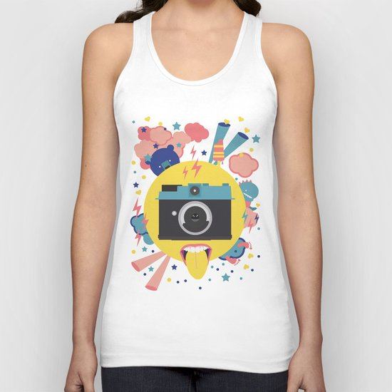 having too much fun to take pictures Unisex Tank Top