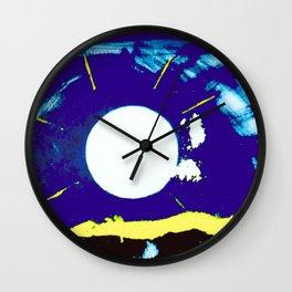 MOONLIGHT        by Kay Lipton Wall Clock