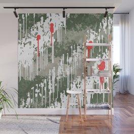 Wet paint texture Wall Mural