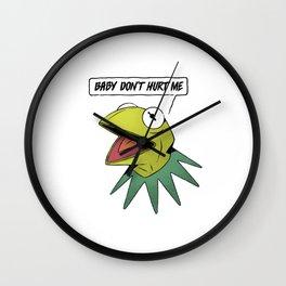 Don't hurt me Wall Clock