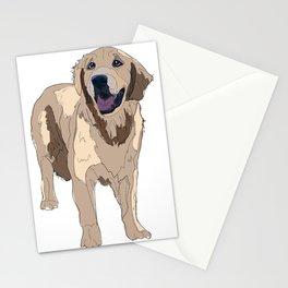 Golden Retriever dog Stationery Cards